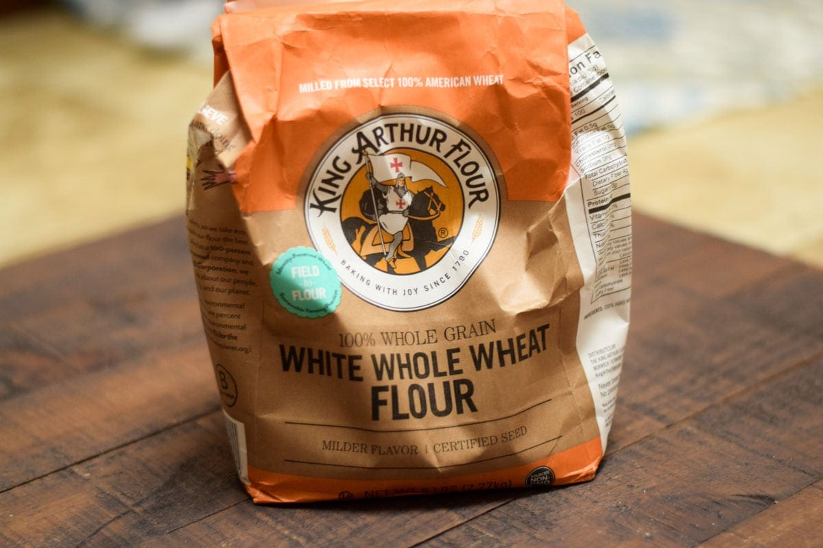 what is white whole wheat flour