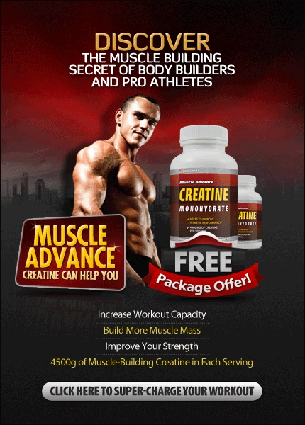 creatine free package offer