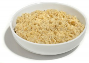 Oatmeal is a great way to start the day. I like to add protein powder and peanut butter.