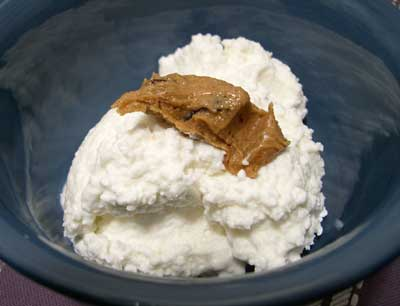 Cottage Cheese And Peanut Butter