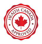 Health Canada Approved seal