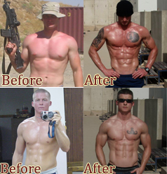 2 US Soldiers Get Ripped And Show You Their Pics!