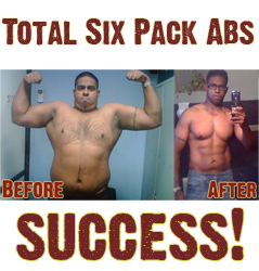 Wow! 27% Body Fat To A Six-Pack! (Pics)