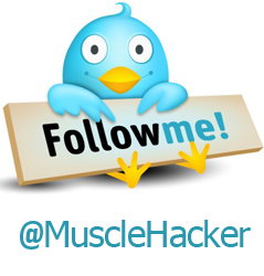 Follow MuscleHack On Twitter