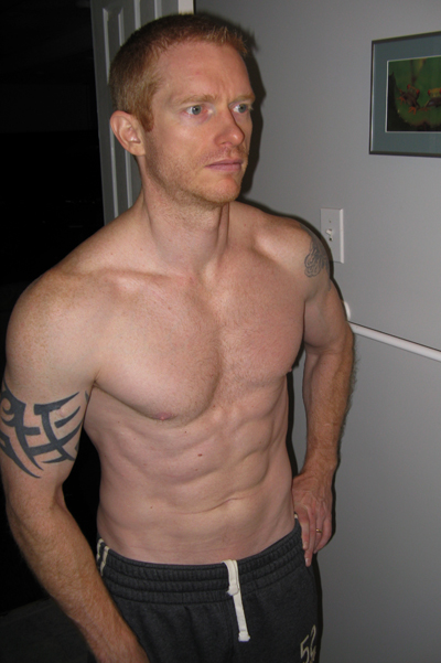 Stuart after Total Six Pack Abs