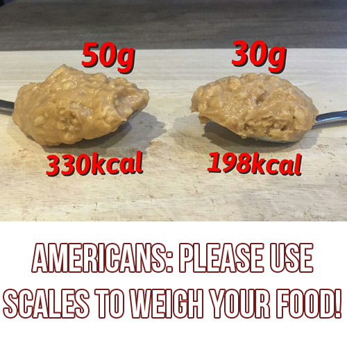 Americans: Please Use Scales To Measure Your Food
