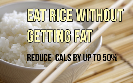 Eat Lots of Rice Without Getting Fat With This Technique
