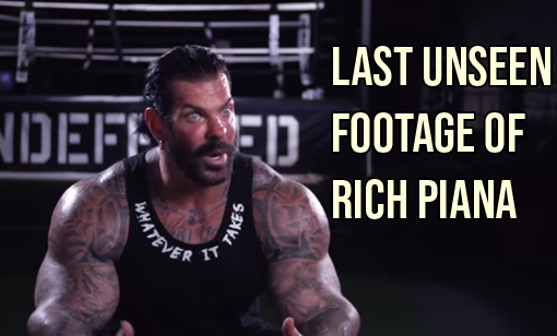 The Last Unseen Footage of Rich Piana