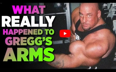 HERE'S WHAT GREGG VALENTINO'S ARMS LOOK LIKE NOW