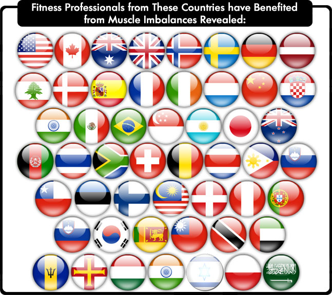 75% Commission For Fitness Professional Product  Image of Muscle Imbalances Revealed Customers