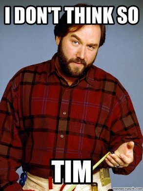 Richard Karn - I don't think so, Tim. DOMS and muscle gains