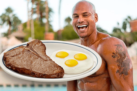 Big Brandon Carter Abs Eggs And Death Muscle Roast