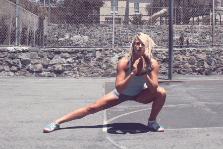 bodyweight lunges