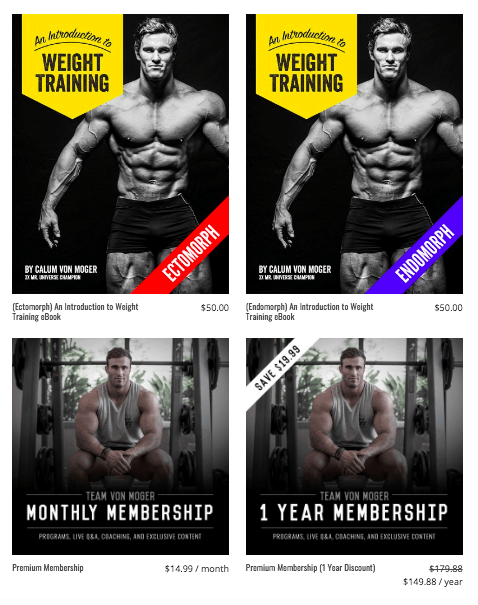 calum von moger workout program
