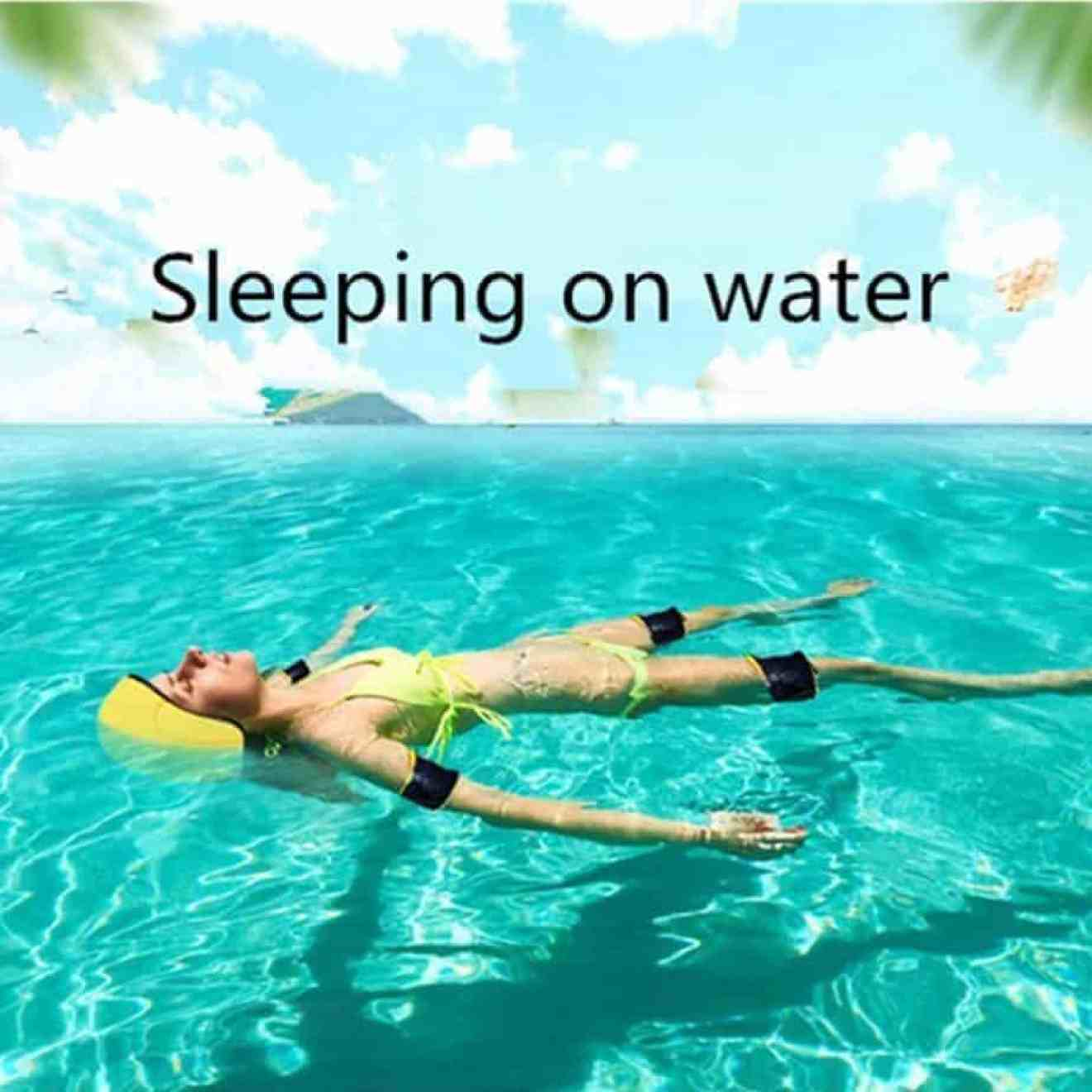 sleeping on water