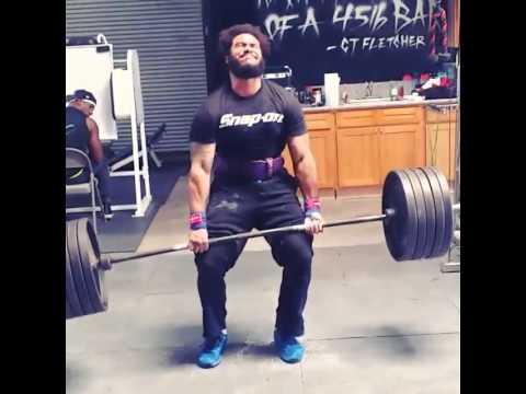 samson fletcher deadlift