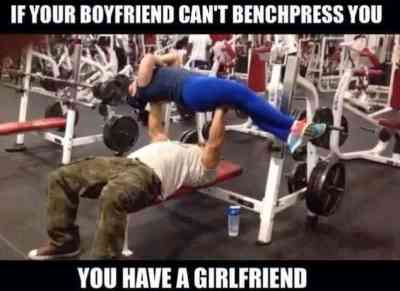 strong bench press