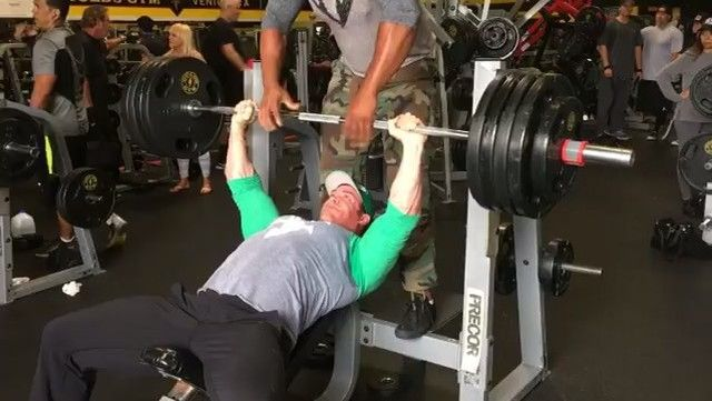 mike o'hearn bench press
