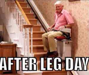 old man leg workout