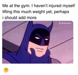 gym injury