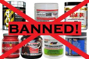 pre-workouts banned