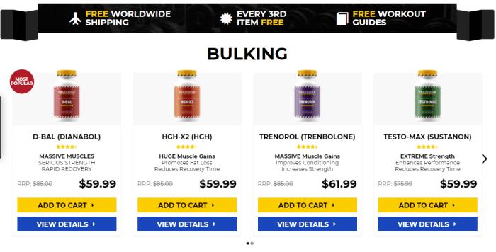 Best bulking steroid pills