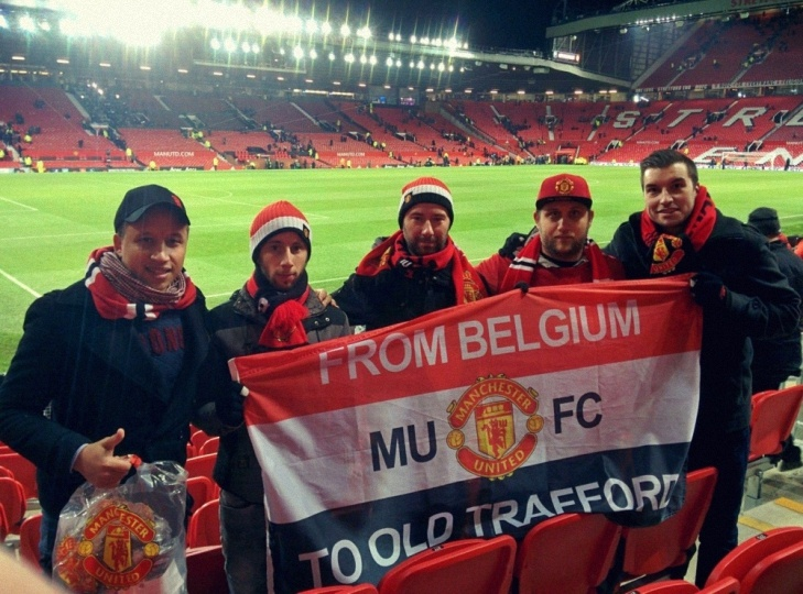 Red Flag Belgium à Old Trafford