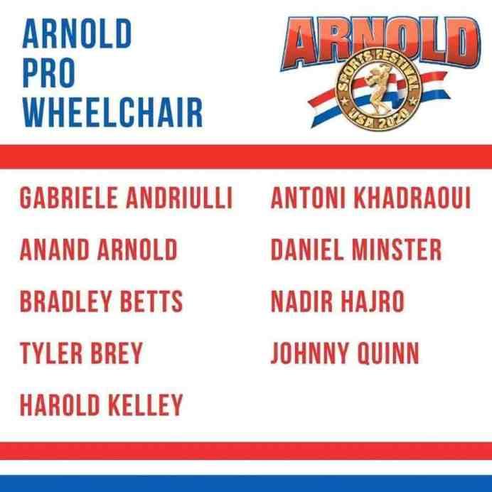 2020 Arnold Classic Ohio