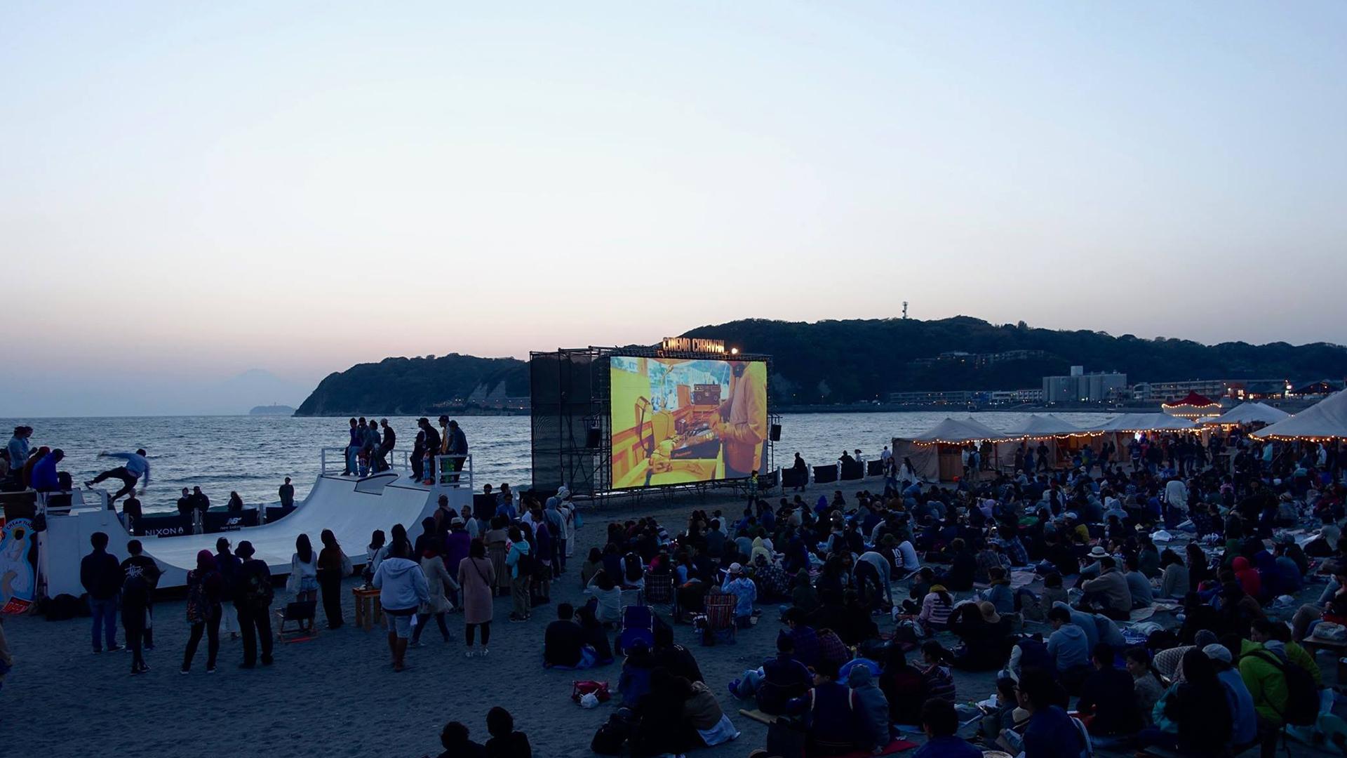 第8回逗子海岸映画祭の協賛をさせて頂いております