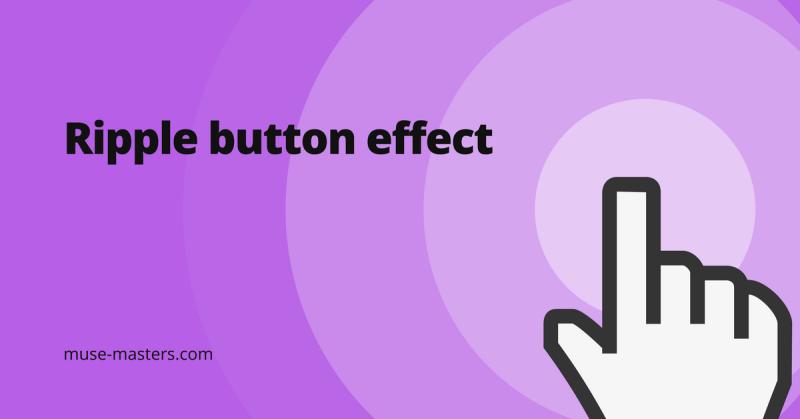 widget ripple button effect adobe muse