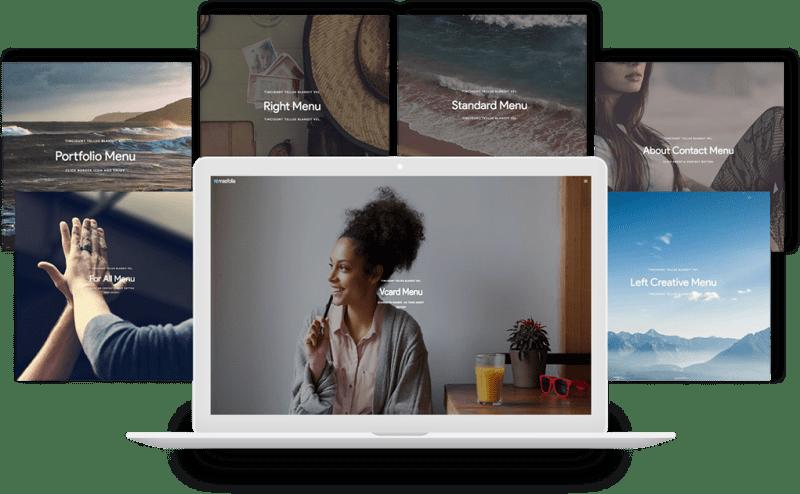 Masfolia - Creative Portfolio template for Adobe Muse