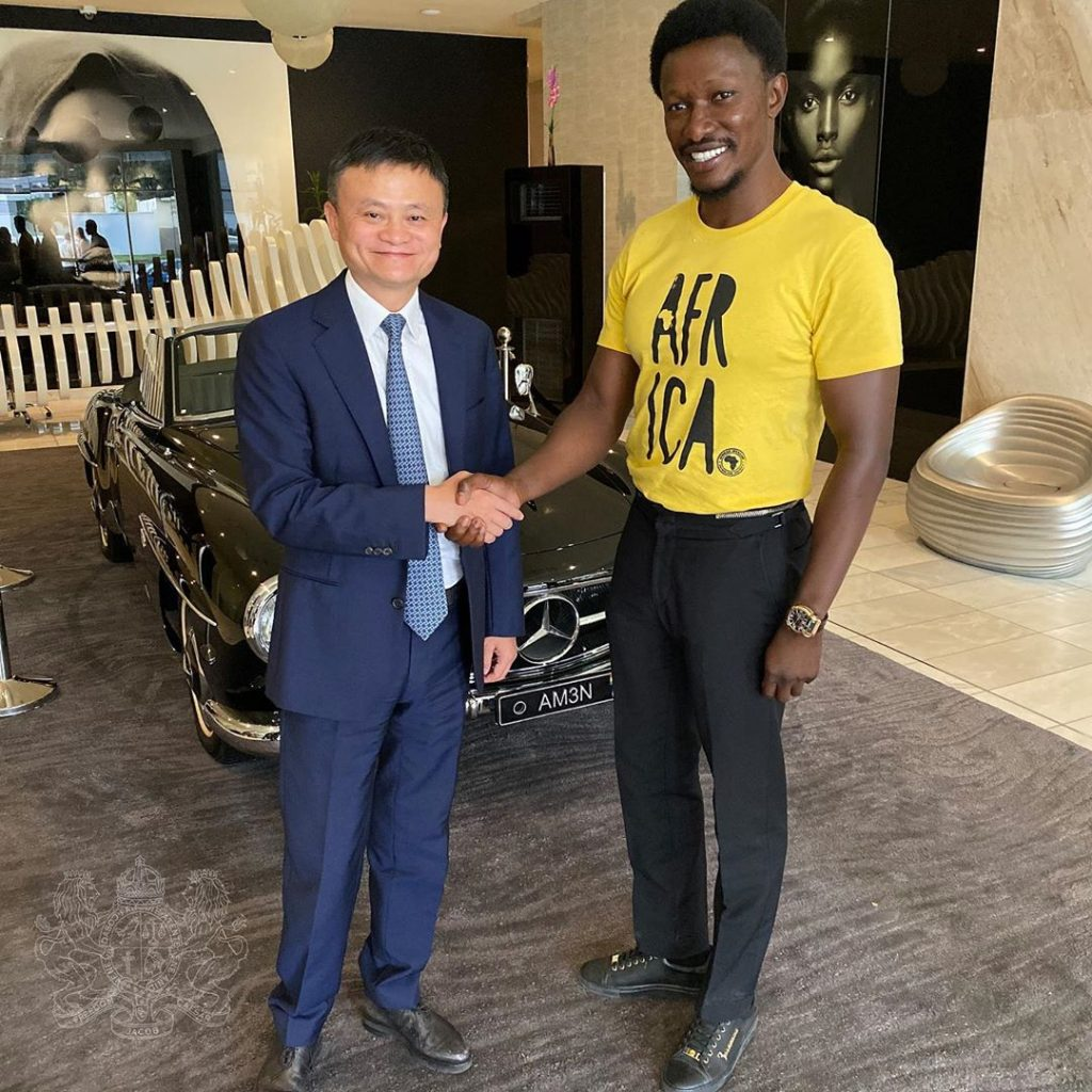 Freedom Jacob Caesar reveals his billionaire status in a new video with Floyd Mayweather
