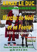 L'affiche du marché de Noël