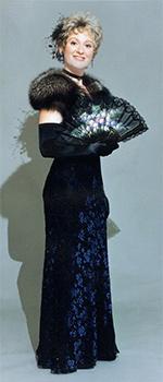 La cantatrice soprano Rachel.