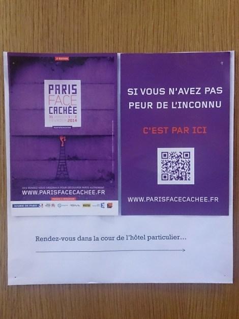 Paris Face Cachée 2014