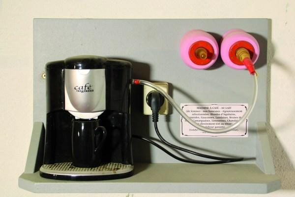 Machine à café au lait