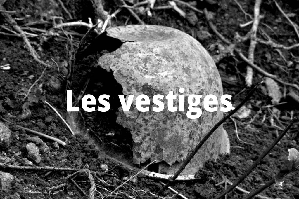 Les vestiges de la bataille de Méautis