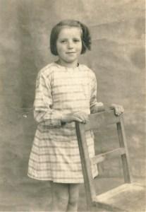 Bernadette Robert 8 ans en 1944