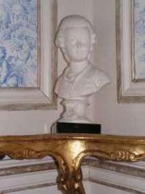 Buste en marbre Mozart 19è siècle