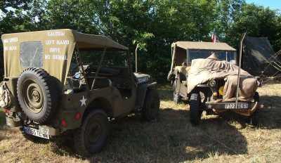 Camp de reconstitution Bloody Gulch Normandie