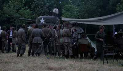 Camp de reconstitution Bloody Gulch Normandie