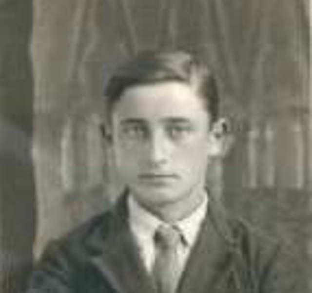 Zeugnis von Louis Sénoville, 21 im Jahr 1944