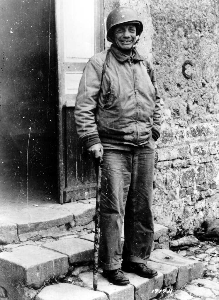 Theodore Roosevelt in 1944 at Méautis France