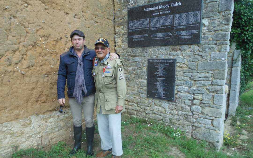 Bob Noody devient le parrain du Musée Mémorial de Bloody Gulch