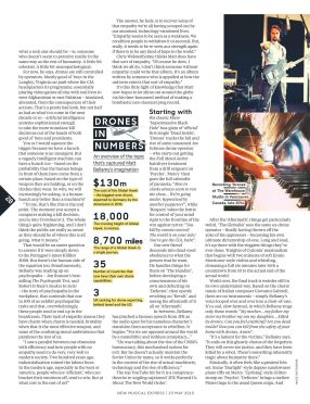 GAME OF DRONES NME Mai 2015