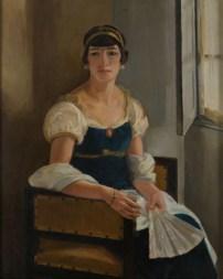 Ercole Drei, Interno dello studio, 1926, olio su tela