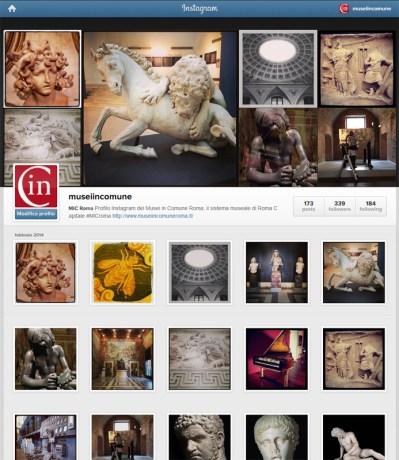 Canale Instagram dei MiC