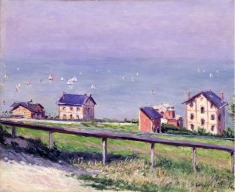 I CAILLEBOTTE Gustave (1848-1894) Régates en mer à Trouville - 1884 - 60,3 x 73 cm - Huile sur toile - Toledo, Ohio. Lent by the Toledo Museum of Art. Gift of The Wildenstein Foundation © Photograph Incorporated, Toledo
