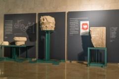 Museografía del Museo del Foro Romano de Zaragoza. Fuente: Ayuntamiento de Zaragoza.