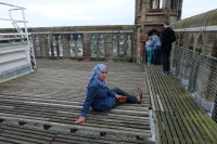Feel exhausted after stepping up 235 stairs to reach cathedral tower